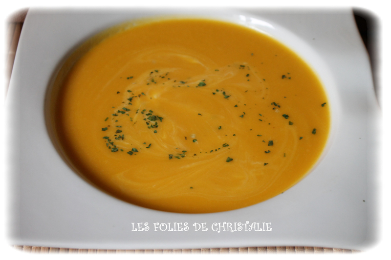 Velouté patates douces butternut 5