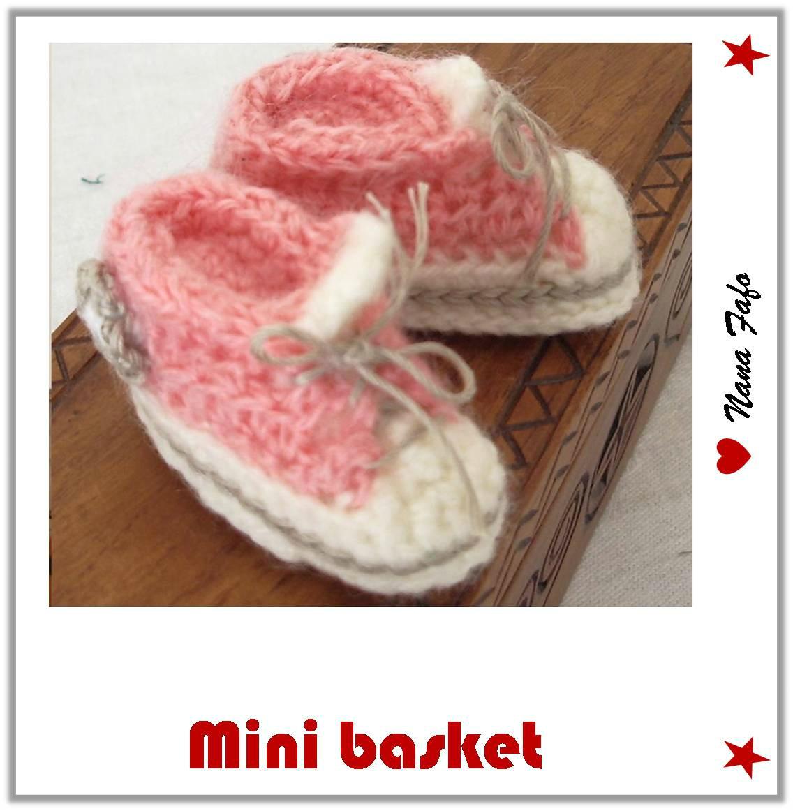 mini basket crochet tuto