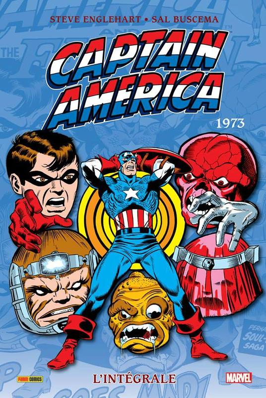 intégrale captain america 1973