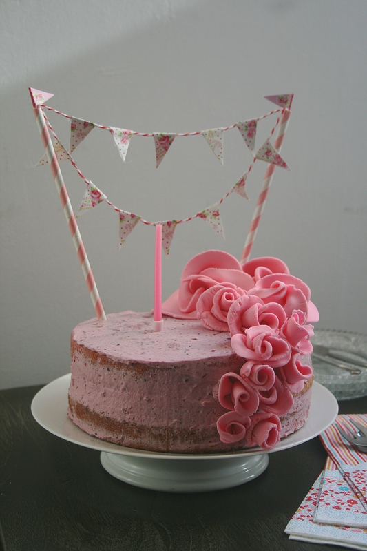 Nacked cake tout rose - Passion culinaire 2