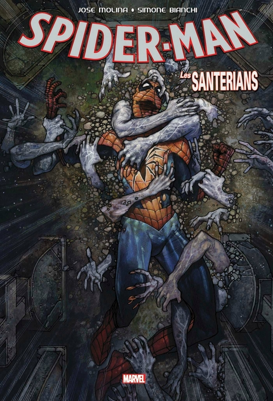 graphic novel spiderman les santerians