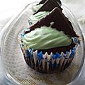 Cupcakes choco-menthe