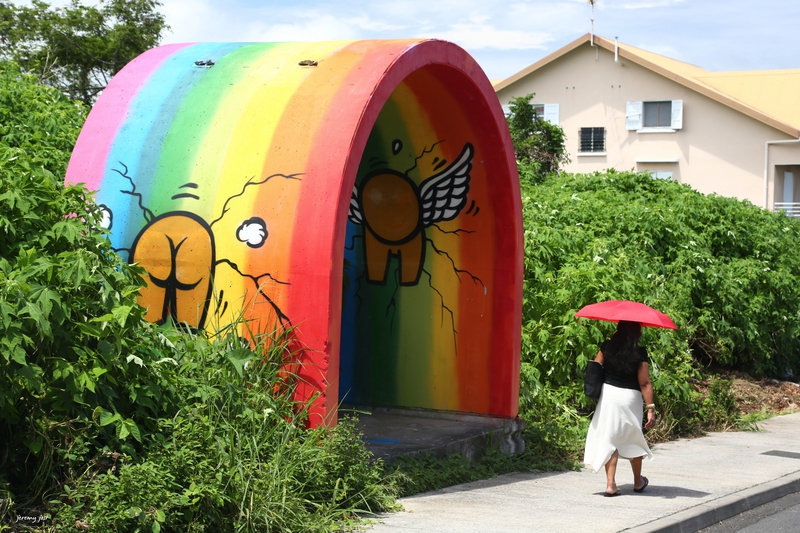 gouzou inside the rainbow