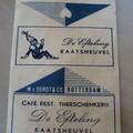 Suikerklontverpakking (café de Theeschenkerij)