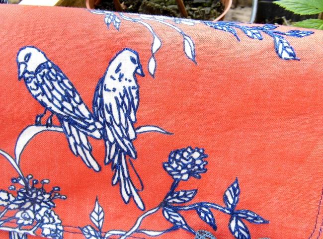 sac 3C Orange et oiseaux 2 Mai 2016