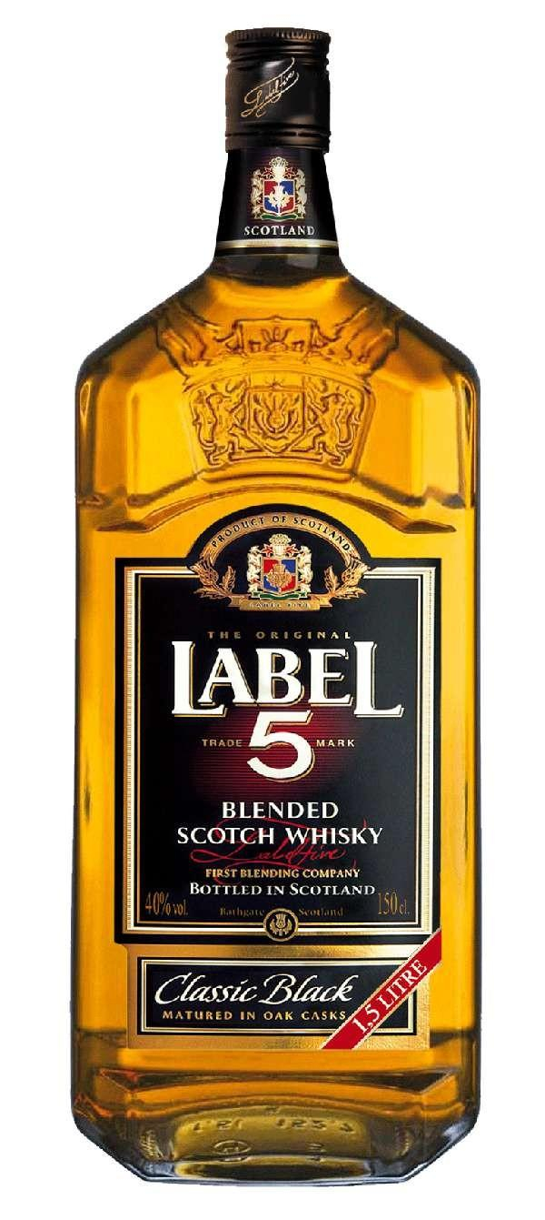 LIQUEUR / LABEL 5