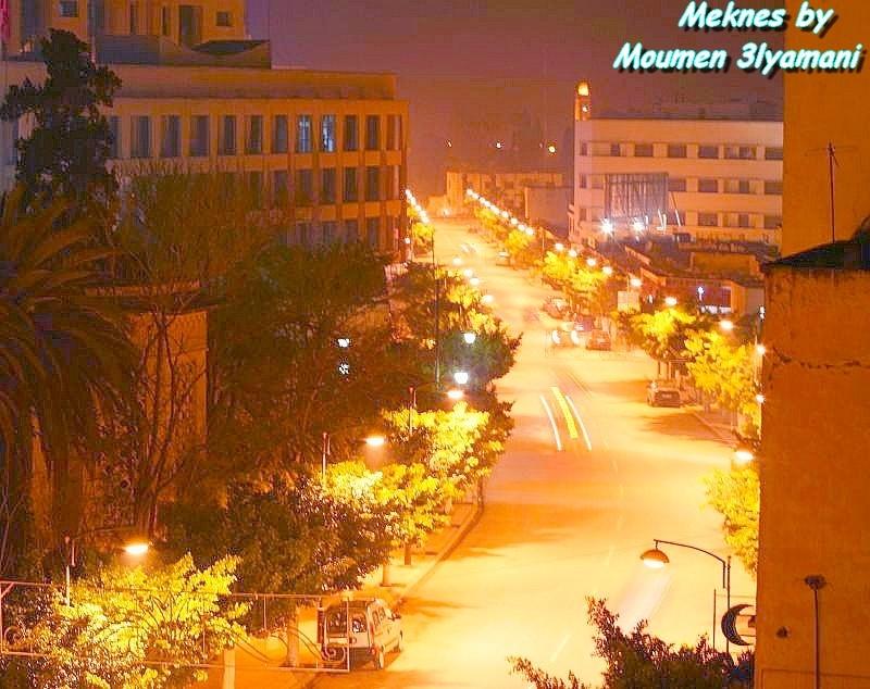 Avenue Mohammed 5 Meknes