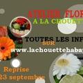 Atelier floral : les dates sont en ligne !