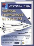Affiche Festival Musique symphonique Eperney