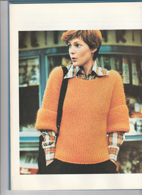 Pull grosse maille (1)