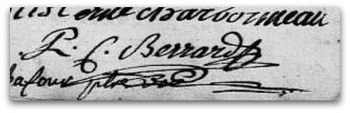 Berrard signature z