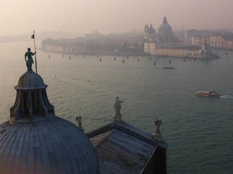 Campanile San Giorgio Maggiore vue Salute Venezia