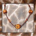 Collier maxi boule automne n° 2 (N)