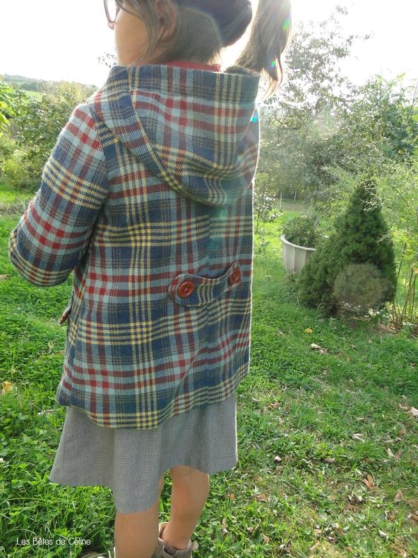 Duffle-coat Les Bêtes de Céline