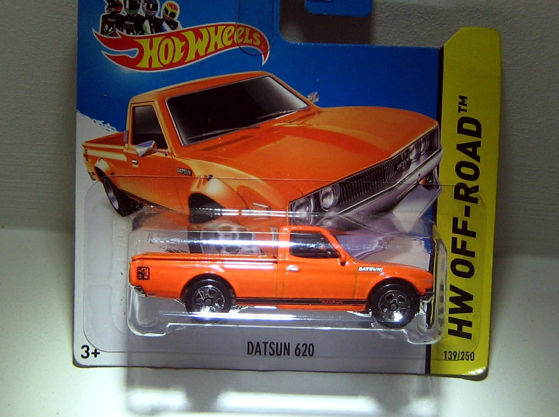 Datsun 620 pick-up (2014)(Hotwheels)