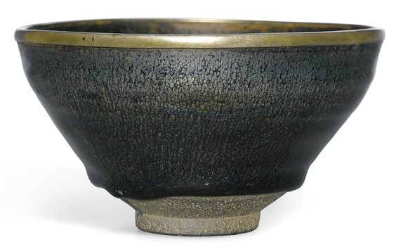 A rare 'Jian' silver-streaked 'nogime temmoku' tea bowl, Southern Song dynasty