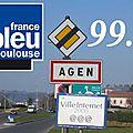 France bleu à agen !