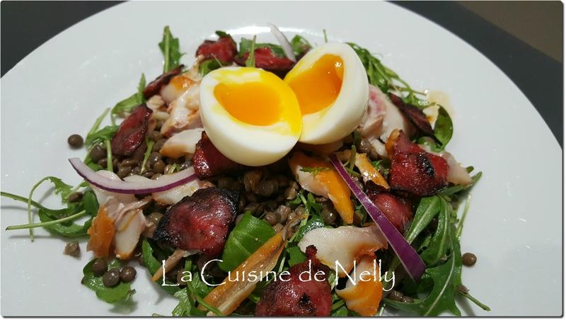 Salade Lentilles Roquette Haddock2