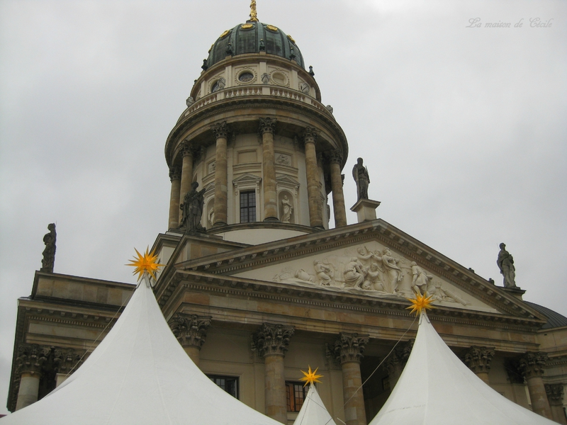 Marché de Noël Gendarmenmarkt