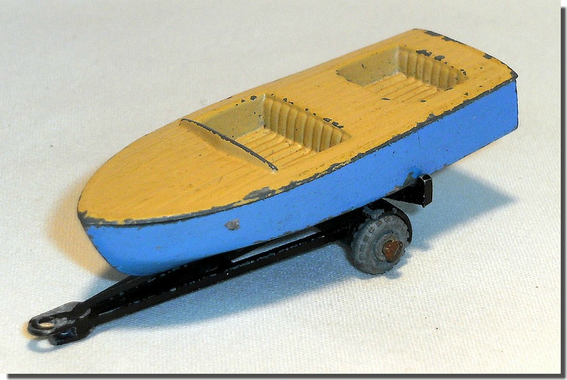 48 A Lesney Matchbox Meteor Boat and Trailer A 1