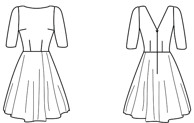 Simple Sew Patterns - Skater Dress