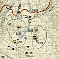Coodwood (2e partie). les chars britanniques s'élancent dans la plaine.