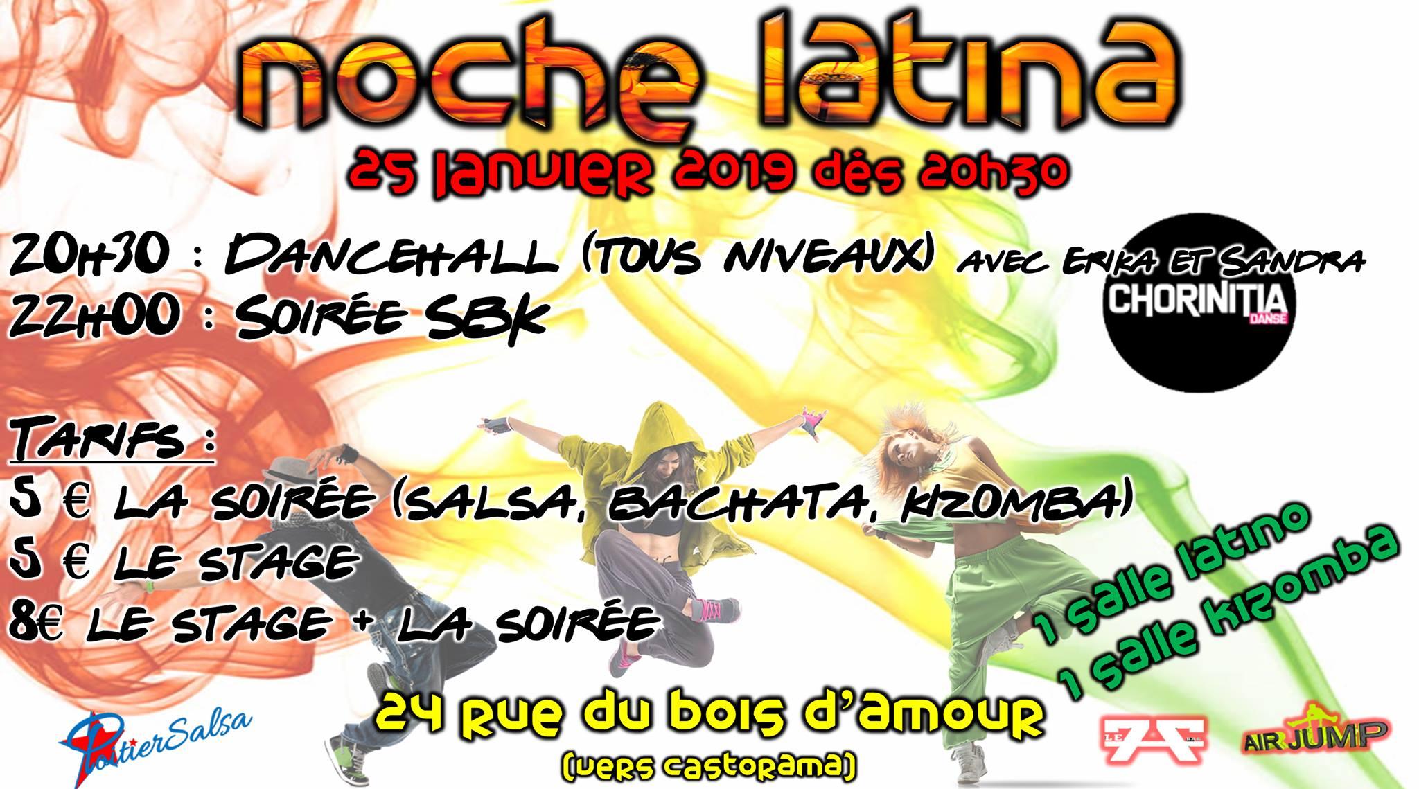 Noche Latina du 25 janvier