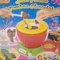 Appareil pour fondue chocolat en forme de fraise