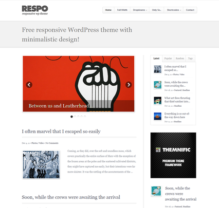 respo-wordpress-theme