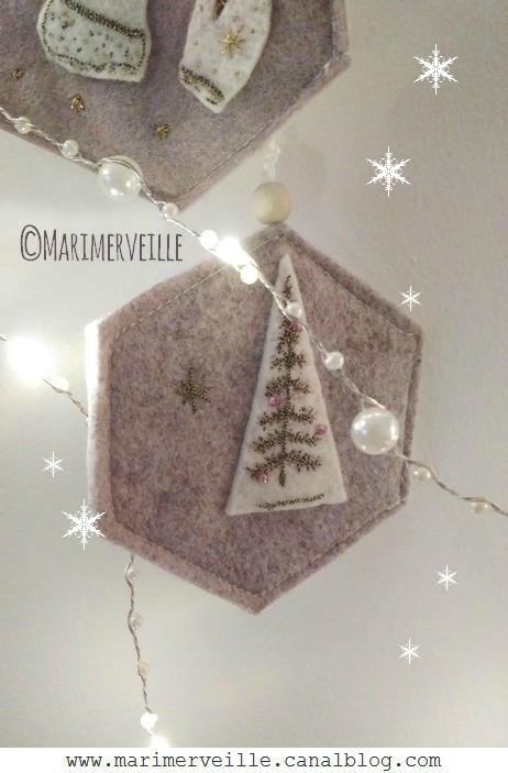 Décoration N°7 Sapin de Noël Marimerveille