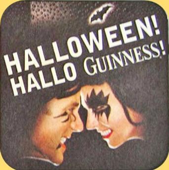 Sous-bock Halloween Visages
