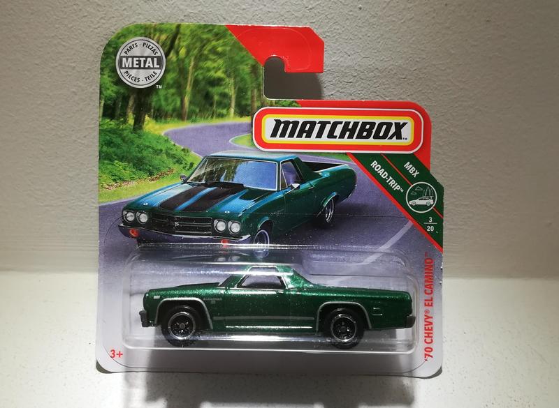Chevrolet Chevy El Camino de 1970 (Matchbox)