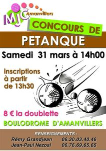 concours 31 mars