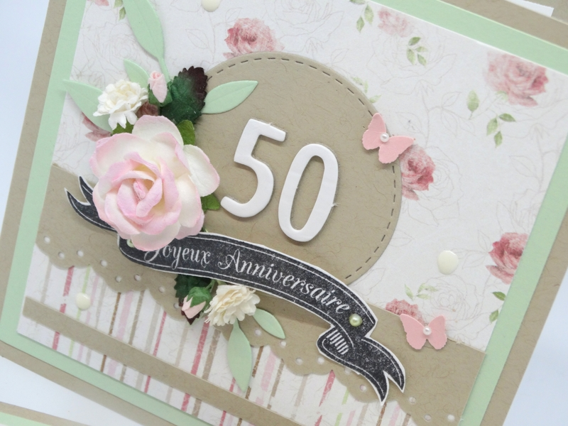 Cartes anniversaire Shabby chic 4