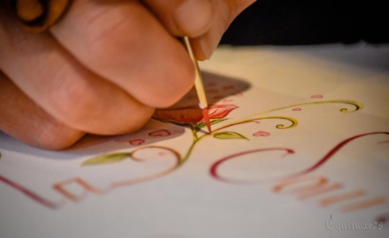 Le pinceau apparut en chine 200 ans avant J-C Scribe et outils de l'illuminateur au Moyen Age