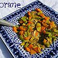 Tajine de veau au poivre vert