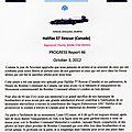 Halifax 57 rescue canada - reconstruction d'un halifax