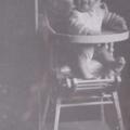 Au fil du temps #1 : la chaise-haute de maminette...