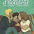 Paroles d'honneur - leïla slimani & laetitia coryn