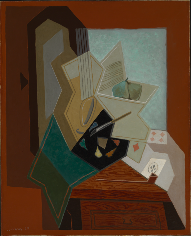 web Juan Gris, The Painter's Window, 1925, oil on canvas, Baltimore Museum of Art-Bequest of Saidie A