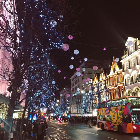 Christmas calling in London ©Kid Friendly