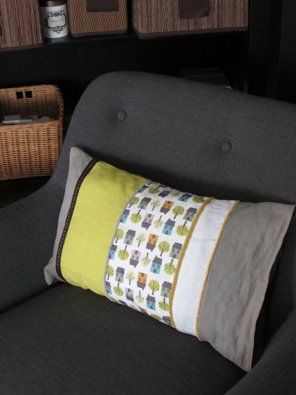 coussin-rayures-verticales-vintage