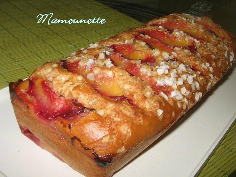 Gâteau aux prunes du jardin et à la vergeoise 020