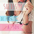 Soldes by opaline...