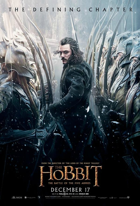Bard poster The Hobbit The Battle of the Five armies