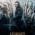 Nouvelles affiches the hobbit: the battle of the five armies