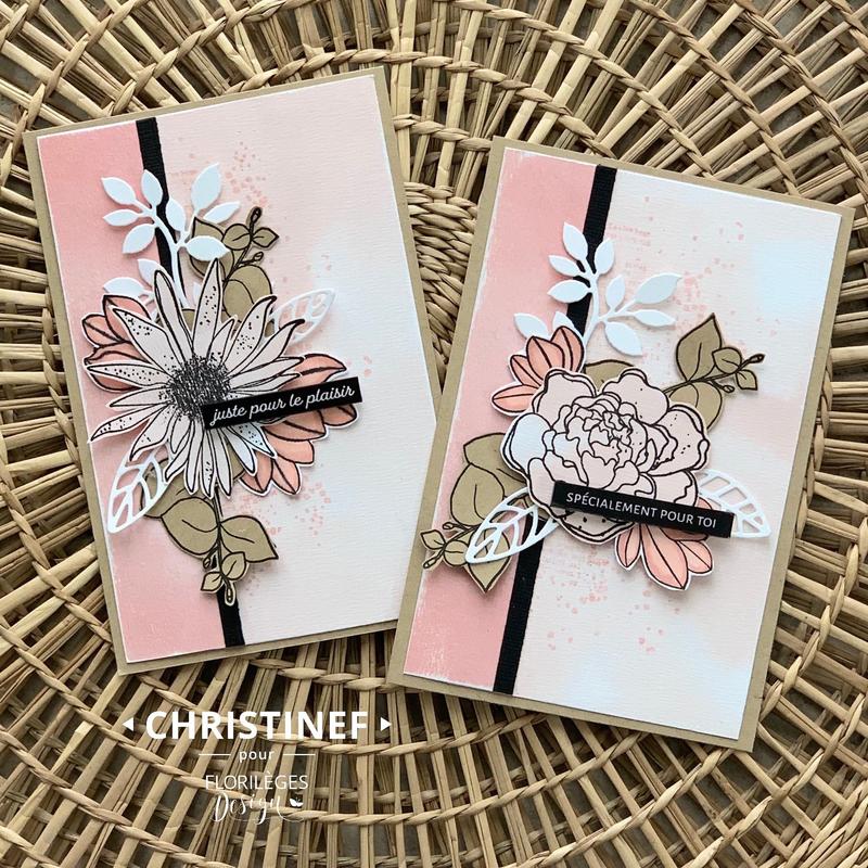 Deux cartes par Christinef