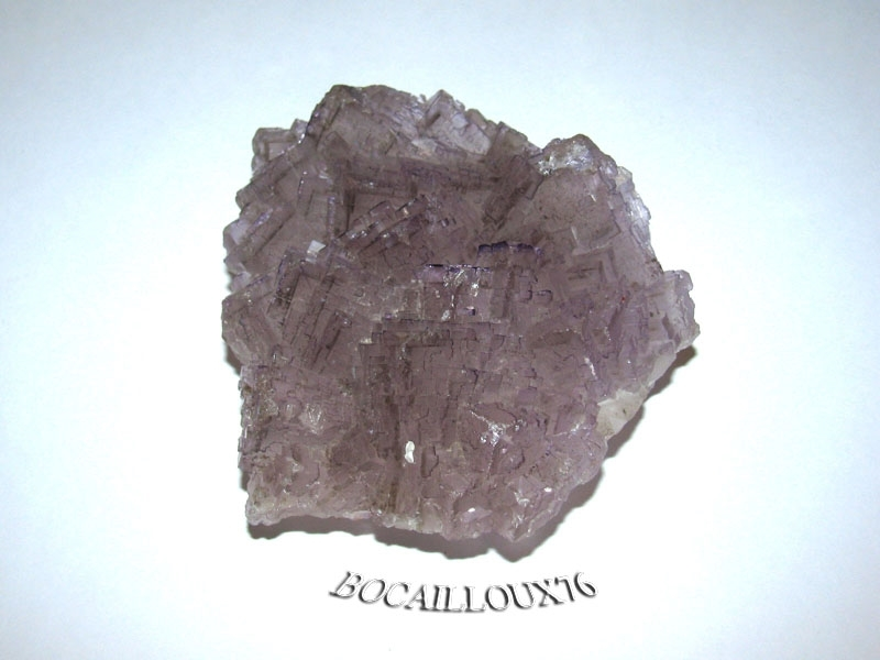 FLUORITE Violette J461 - 36.Chaillac - COLLECTION MINERAUX