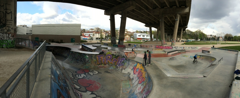 Skatepark Arcueil (94)