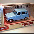 Renault 4 Vintage Mondo Motors bleue 1